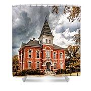 Auburn University - Hargis Hall Shower Curtain