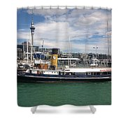 Auckland Harbour Shower Curtain