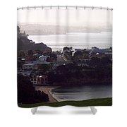 New Zealand - Secluded Cheltenham Beach Shower Curtain