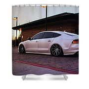 Audi A8 Shower Curtain