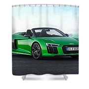 Audi R-8 Spyder Shower Curtain