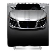 Audi R8 Sports Car Shower Curtain
