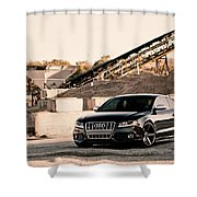 Audi S5 Shower Curtain