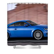 Audi Tt Shower Curtain