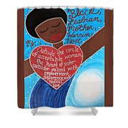 Audre Lorde Shower Curtain
