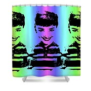 Audrey Hepburn Art Shower Curtain