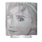 Audrey Hepburn Series 5c Shower Curtain