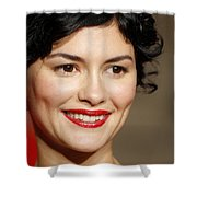 Audrey Tautou Shower Curtain