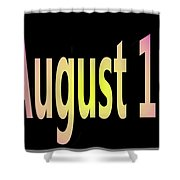 August 15 Shower Curtain