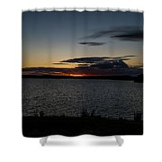 August Awe   Shower Curtain