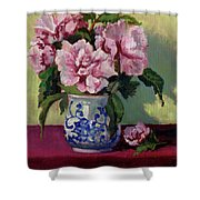 August Blossoms Shower Curtain