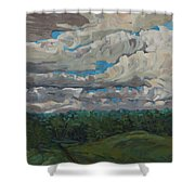 August Convection Shower Curtain