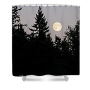 August Full Moon - 2 Shower Curtain