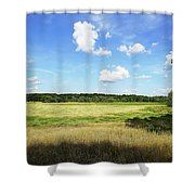 August Noon Shower Curtain
