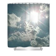August Sun Shower Curtain