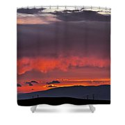 August Sunset Shower Curtain