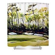Augusta 2 Shower Curtain