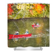 Augusta Canal Number One Shower Curtain