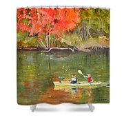 Augusta Canal Number Two Shower Curtain