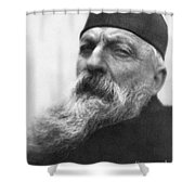 Auguste Rodin (1840-1917) Shower Curtain