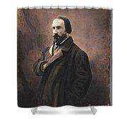 Auguste Vacquerie Shower Curtain