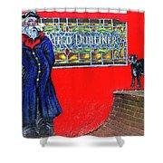 Auld Dubliner Shower Curtain