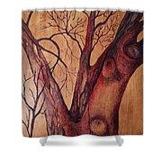 Mystical Tree Shower Curtain