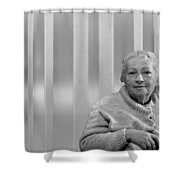 Aunt Hanneh Shower Curtain