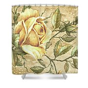 Aunt Marie's Roses Shower Curtain