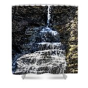 Aunt Sarah Waterfall Shower Curtain