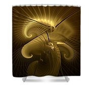 Aureate-1 Shower Curtain