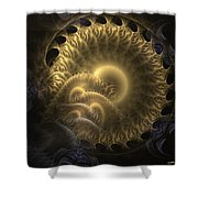 Aureate-2 Shower Curtain