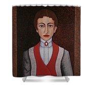 Aurelia De Sousa - The Narrative Of The Silent House Shower Curtain
