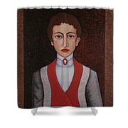 Aurelia De Sousa - The Narrative Of The Silent House Shower Curtain