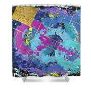Auric Squared Shower Curtain