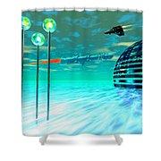 Aurora 12 Shower Curtain