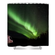 Aurora Borealis - 3 Shower Curtain