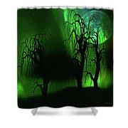 Aurora Borealis Lights - Painting Shower Curtain