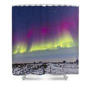 Aurora Borealis Seen From Churchill Shower Curtain