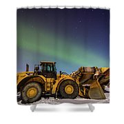 Aurora Machines Shower Curtain