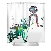 Aurora Mist Shower Curtain