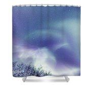 Aurora Skies Shower Curtain