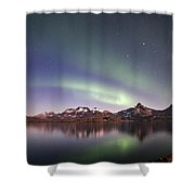 Aurora Tasiilaq Greenland 7279 Shower Curtain