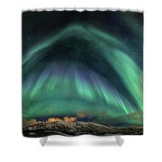 Aurora Umbrella Shower Curtain