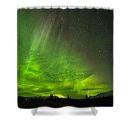 Aurora Wave Shower Curtain