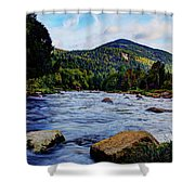 Ausable And Whiteface Shower Curtain