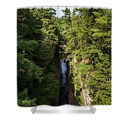 Ausable Chasm Shower Curtain