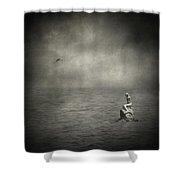 Ausencia Presencia Y Una Sirena Shower Curtain
