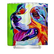 Aussie Shower Curtain by Alicia VanNoy Call