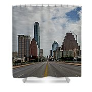 Austin From Congress Street Bridge Shower Curtain